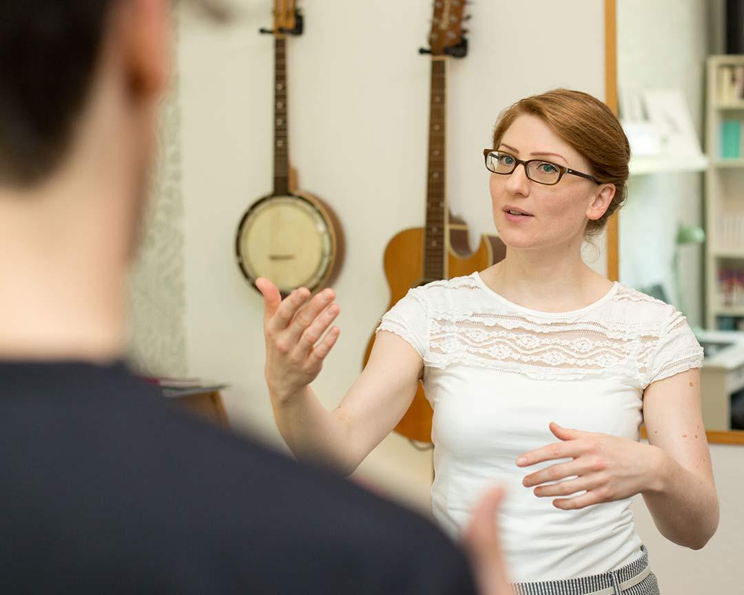 Singen lernen in Wopswede mit Melanie
